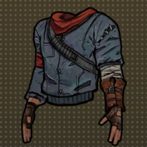 Reinforced jacket icon