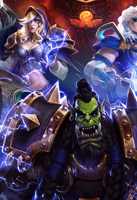Heroes Of The Storm cover icon